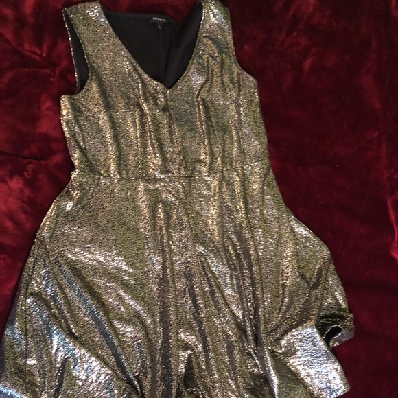 torrid Dresses & Skirts - Gold shimmer dress